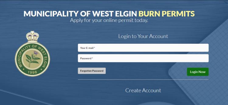 Burn Permit Portal
