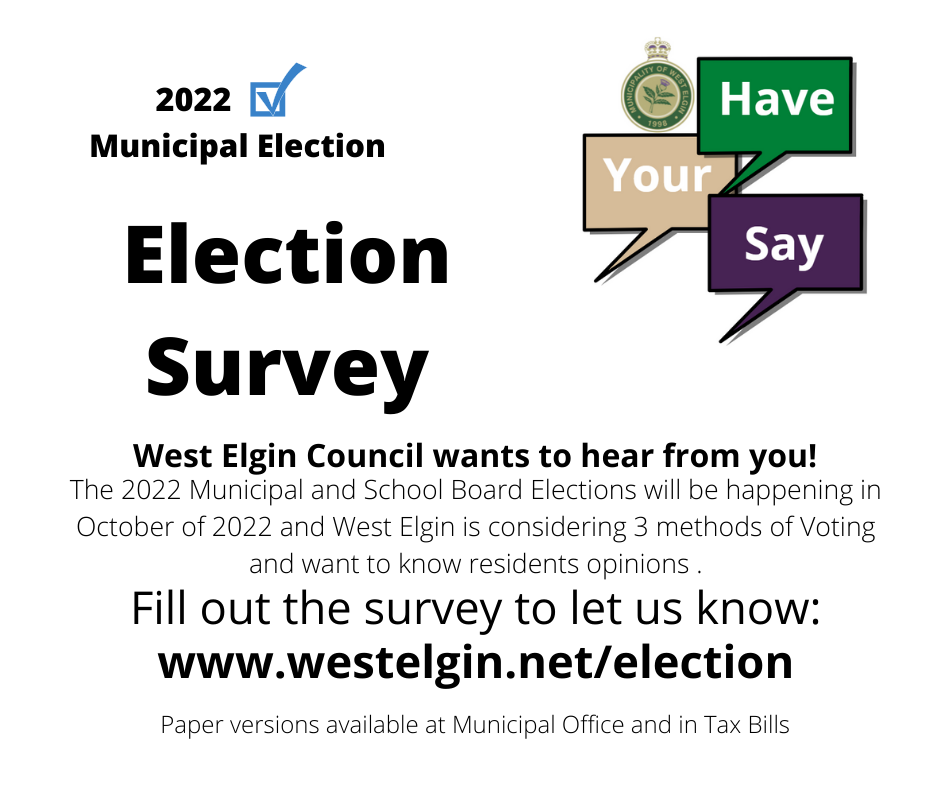 Election Survey Poster