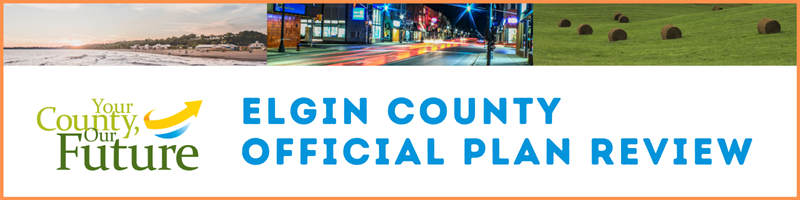Elgin County Official Plan Review Banner