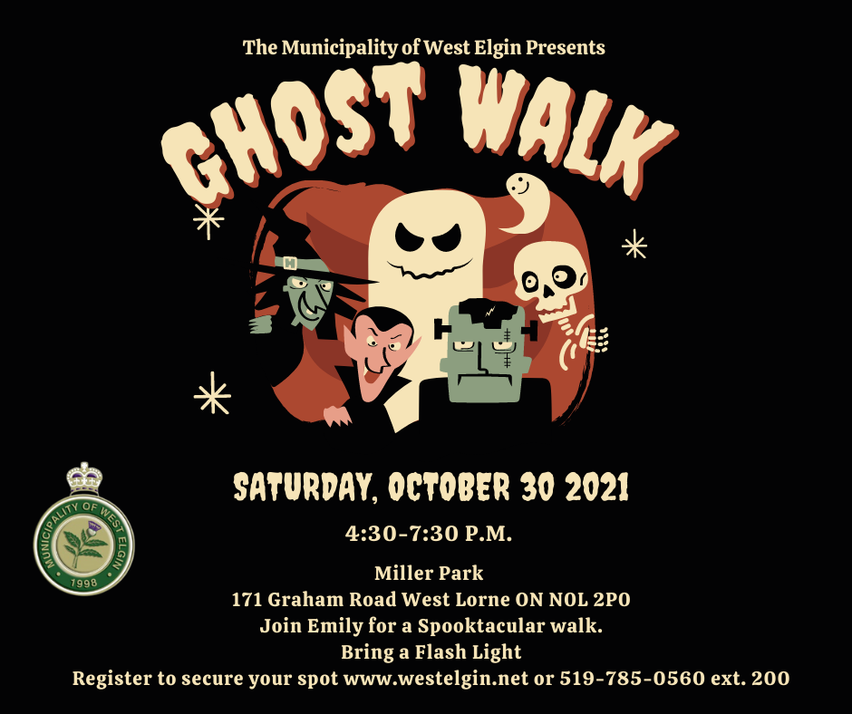 Ghost Walk Poster