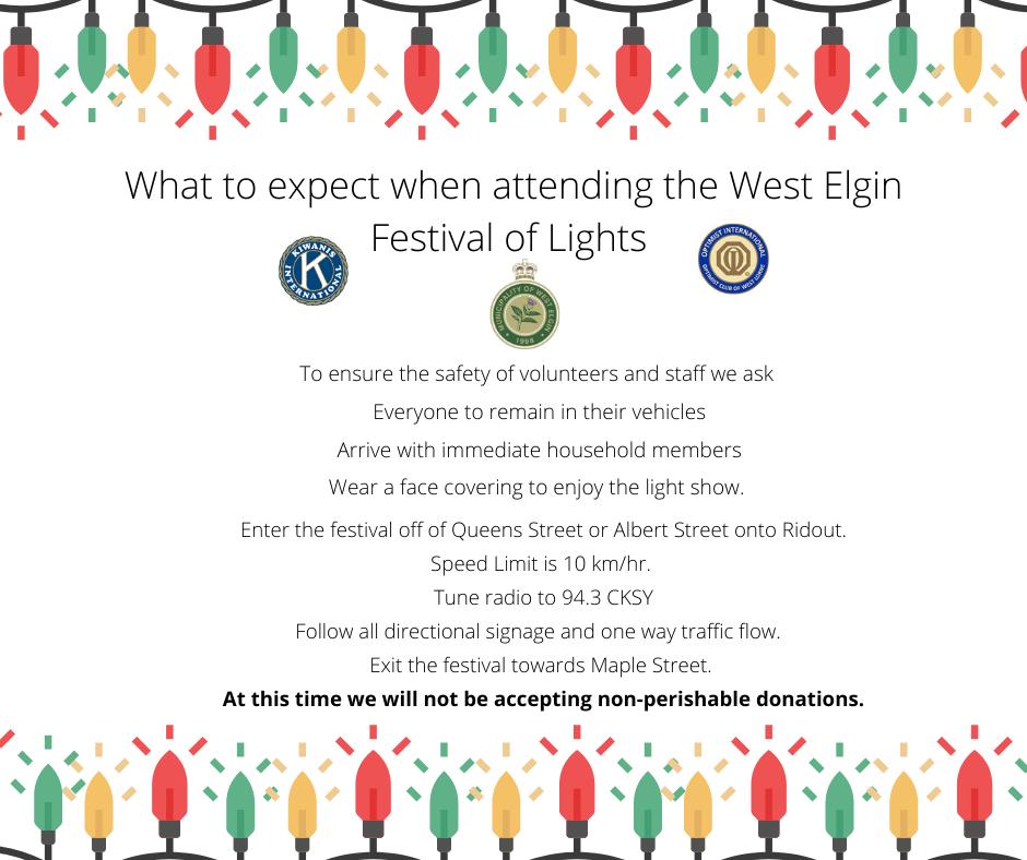 West Elgin Festival of Lights 2020